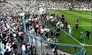 Momentos de la tragedia de Hillsborough | Fotografía: © Hillsborough Justice Campaign (Vía creative commons 2.0)