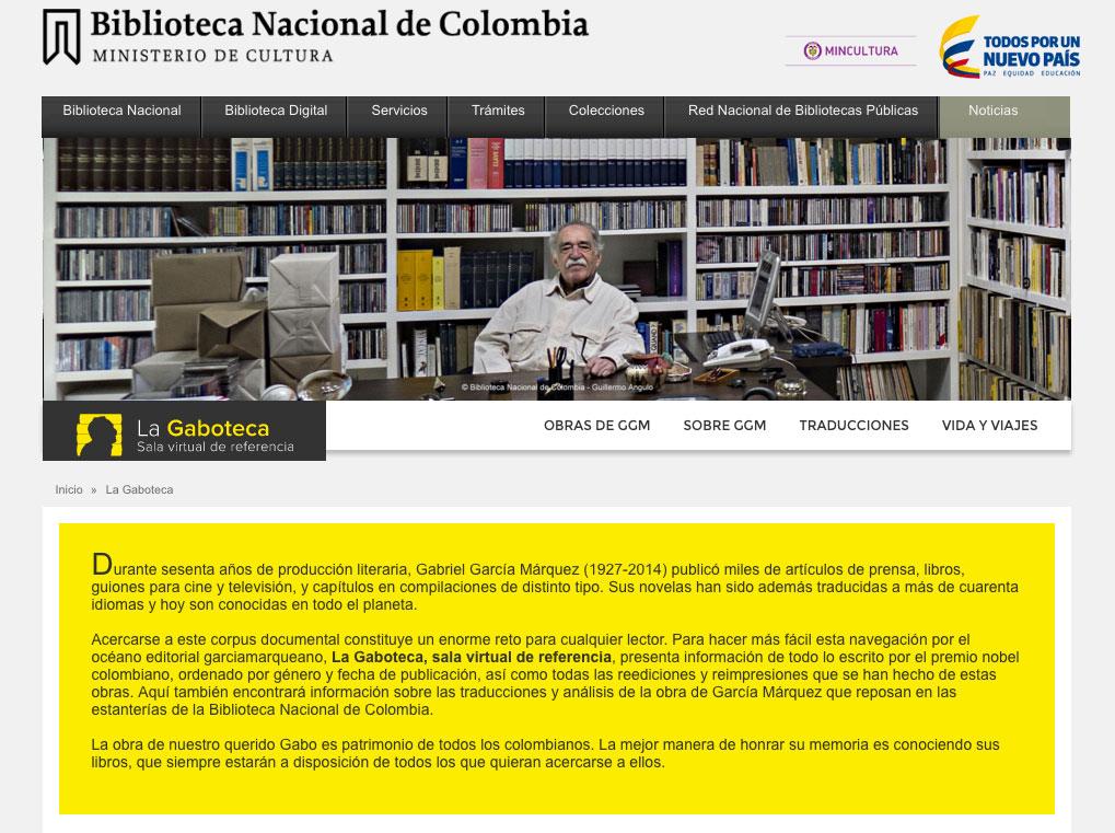 © Biblioteca Nacional de Colombia, Equipo de Proyectos Digitales