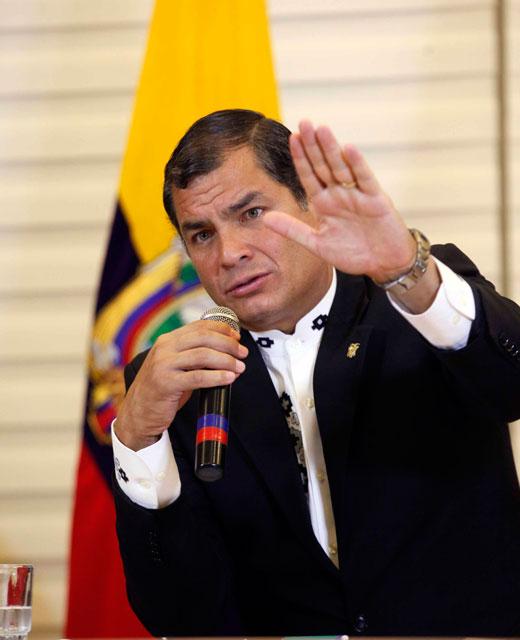 © Mauricio Muñoz E. / Presidencia de la República del Ecuador